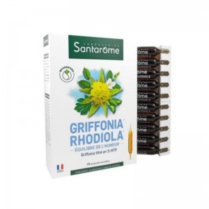 Griffonia Rhodiola (20 fiole), Santarome