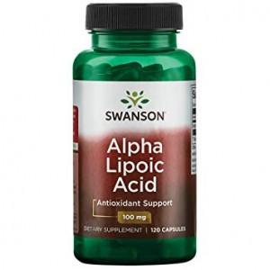 Acid Alfa-Lipoic 100mg (120 capsule), Swanson