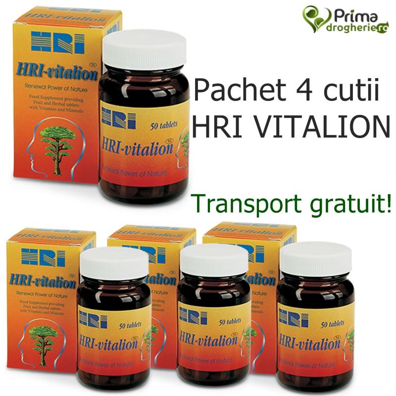 4 x HRI Vitalion (50 capsule)