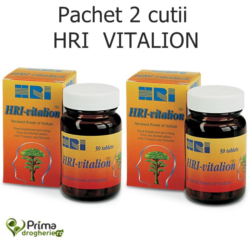 2 X HRI Vitalion (50 capsule)