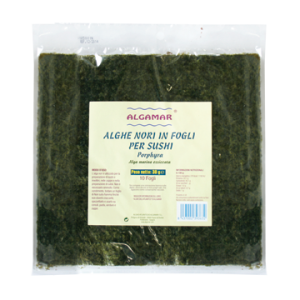 Alge marine Nori pentru sushi (30g) - 10 folii, Algamar