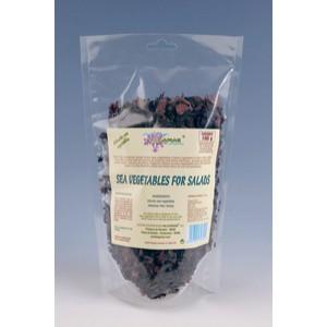 Mix alge marine pentru salate (nori, dulse, wakame) (100g), Algamar
