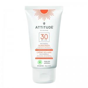 Lotiune protectie solara, SPF 30, portocale (150 grame), Attitude