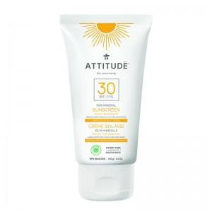 Lotiune protectie solara, SPF 30, tropical (150 grame), Attitude