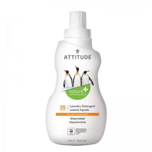 Detergent lichid pentru rufe, 35 spalari, coaja de citrice (1050 ml), Attitude