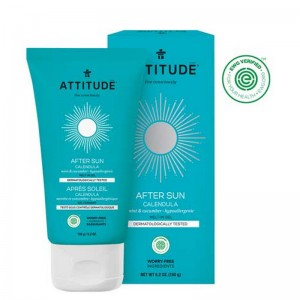 After Sun Melt-In Gel, menta si castravete (150 grame), Attitude