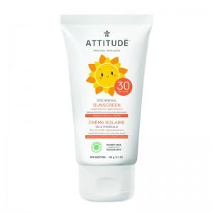 Lotiune protectie solara, SPF 30, aroma vanilie (150 grame), Attitude