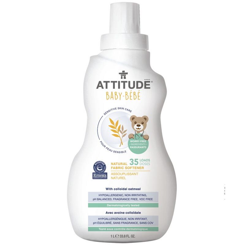 Sensitive Sensitive Skin Baby Natural Balsam de rufe (1 L), Attitude