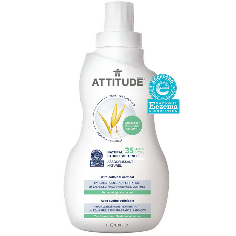 Sensitive Skin Natural Balsam de rufe (1 L), Attitude