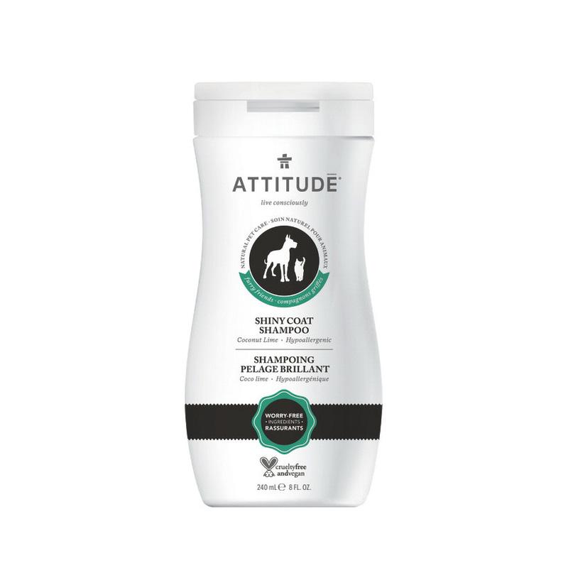 Sampon blana stralucitoare (240 ml), Attitude