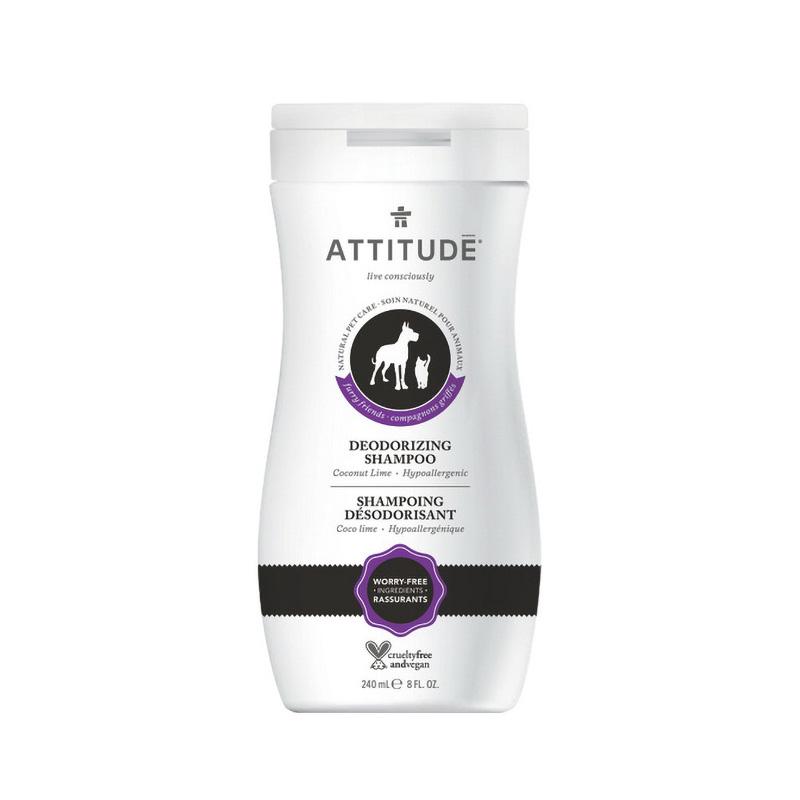Sampon natural pentru animalul tau de casa, dezodorizant (240 ml), Attitude