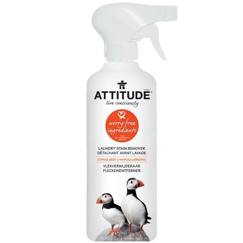 Solutie pentru indepartat pete, coaja de citrice (475 ml), Attitude