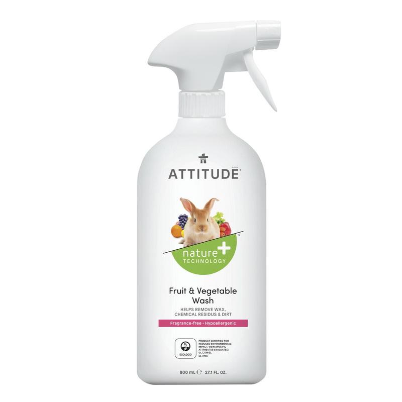 Solutie pentru de ceruit fructe si legume, fara miros (800 ml), Attitude