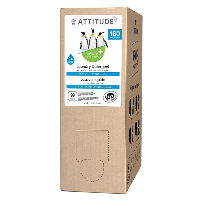 Rezerva Detergent de rufe, flori de camp (4 L ), Attitude