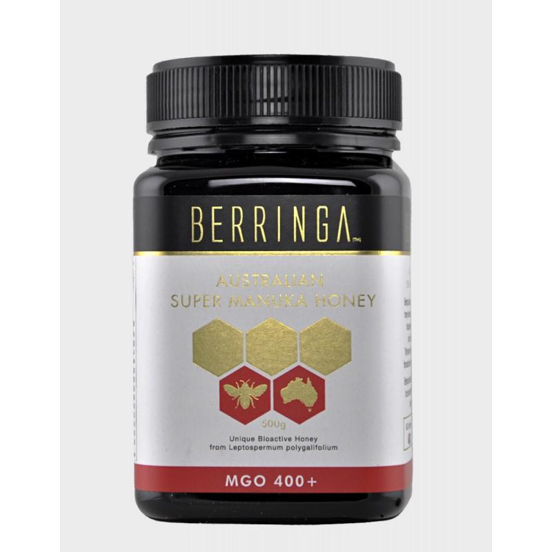 Miere de Manuka MGO 400 (500 grame), Berringa