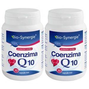Coenzima Q10 30mg (30 capsule) pachet 1+1 gratuit, Bio Synergie