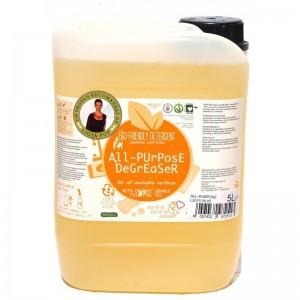 Detergent ecologic pentru toate suprafetele cu ulei de portocale, Biolu (5 litri)