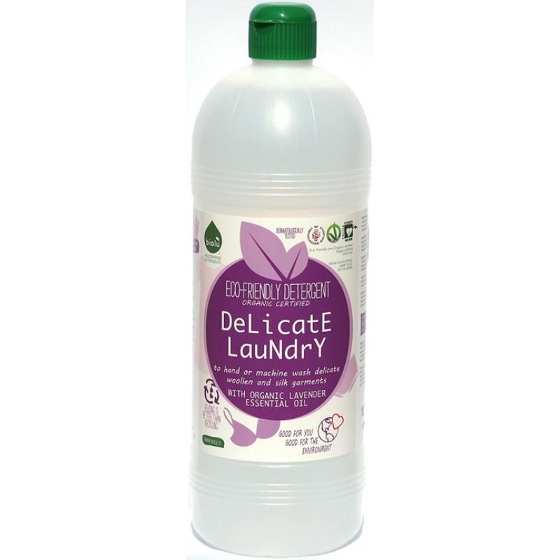 Detergent ecologic lichid pentru hainutele copiilor si rufe delicate (1L), Biolu