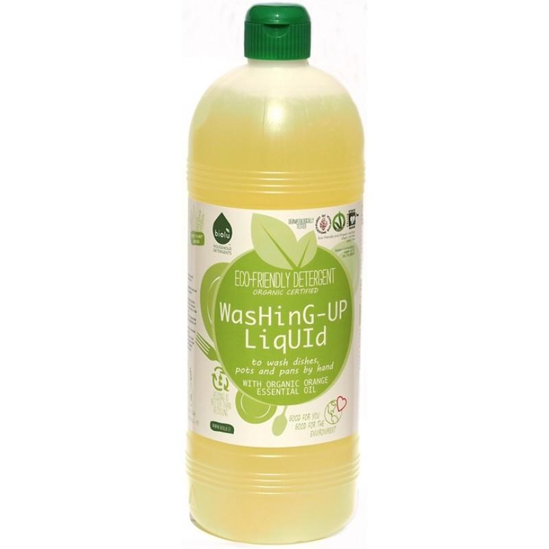 Detergent ecologic pentru spalat vase neutru (1L), Biolu