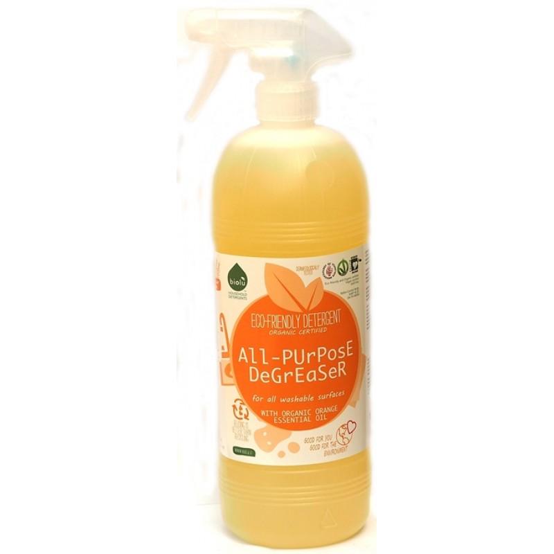 Detergent ecologic pentru toate suprafetele cu ulei de portocale (1L), Biolu