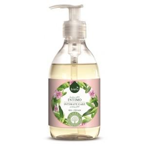 Gel ecologic  pentru igiena intima cu tea tree si eucalipt (300ml), Biolu