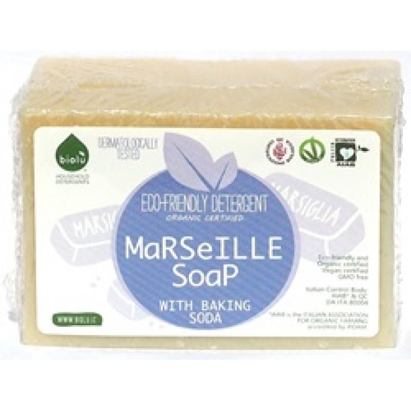 Sapun solid de Marsilia, ecologic pentru rufe (140g), Biolu
