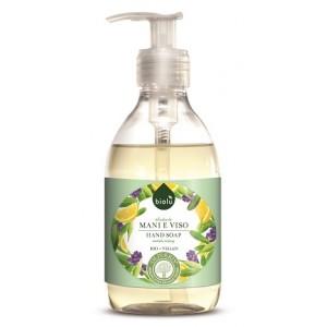 Sapun lichid ecologic antibacterian cu lavanda si vitamina E (300ml), Biolu