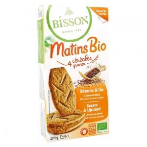 Biscuiti MIC DEJUN cu cereale si seminte de susan si de in (200g), Bisson