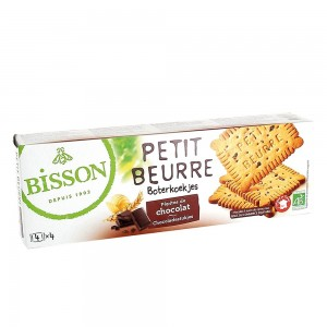 Biscuiti Petit Beurre cu pepite de ciocolata (150g), Bisson