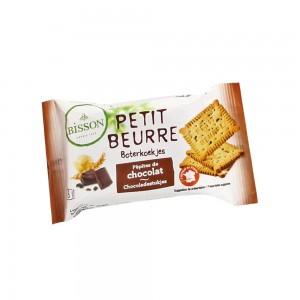 Biscuiti Petit Beurre cu pepite de ciocolata pachet (28g), Bisson