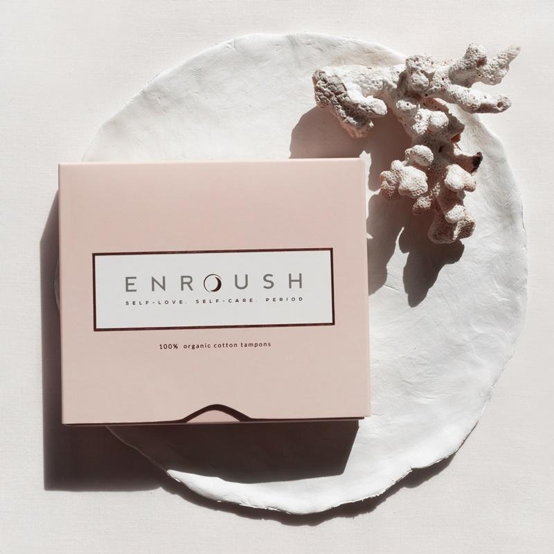 Tampoane organice mini (16 bucati), Enroush