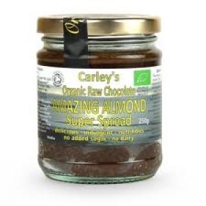 Crema tartinabila cu ciocolata si migdale raw bio (250g), Carley's Organic