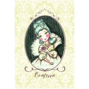 "Felicitare ilustrata ""Contessa"", Choofi"