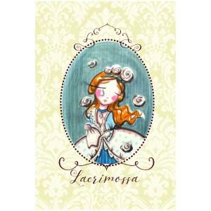 "Felicitare ilustrata ""Lacrimossa"", Choofi"