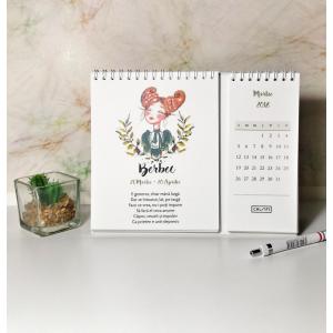 Calendar birou ZODIAC 2018, Choofi