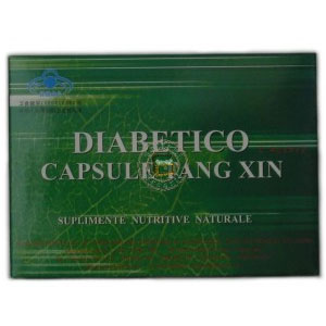 Diabetico (18 capsule), Cici Tang