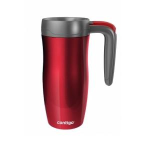 Randolph Stainless Handled travel mug (red/red) (470ml),