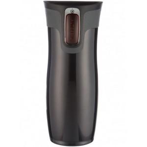 West Loop Stainless travel mug (black) (470ml)