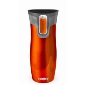 West Loop Stainless travel mug (orange) (470ml)