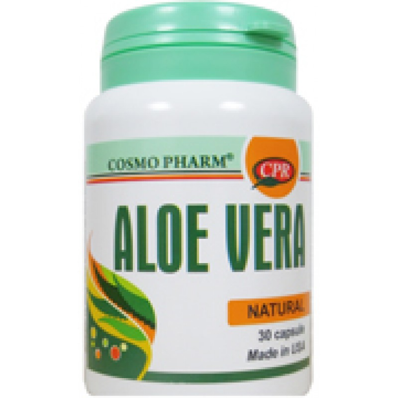 Aloe vera (30 capsule), Cosmpharm