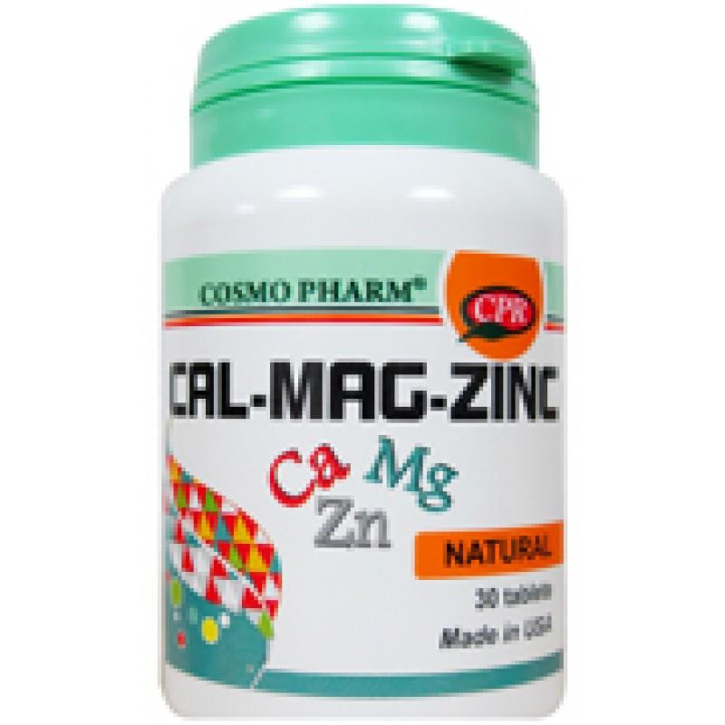 Cal-Mag-Zinc Promo 30+10 (30 tablete), Cosmopharm