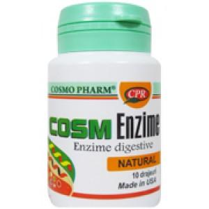 Cosm Enzime (10 drajeuri), Cosmopharm