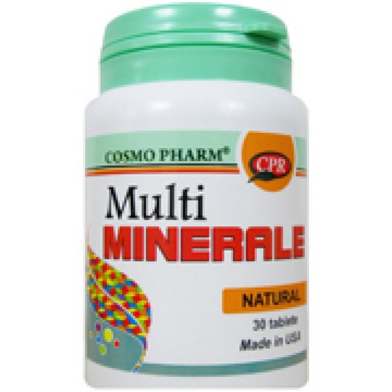 Multiminerale (30 tablete), Cosmopharm