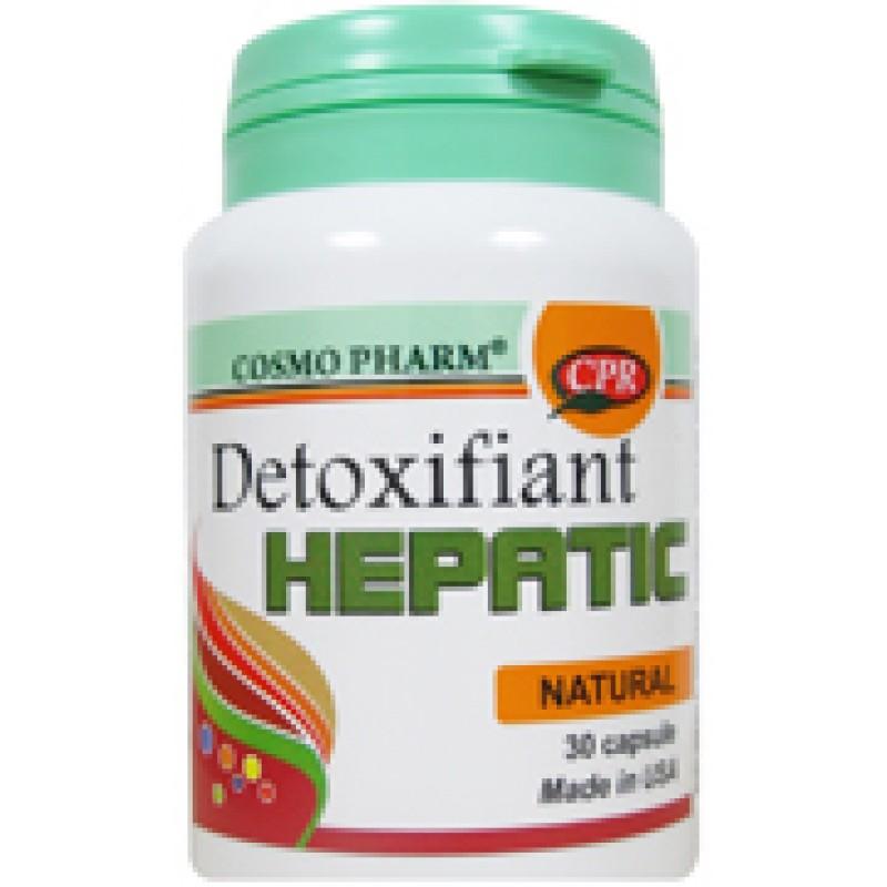 Detoxifiant hepatic Promo 10 tablete gratuit (30 capsule), Cosmopharm