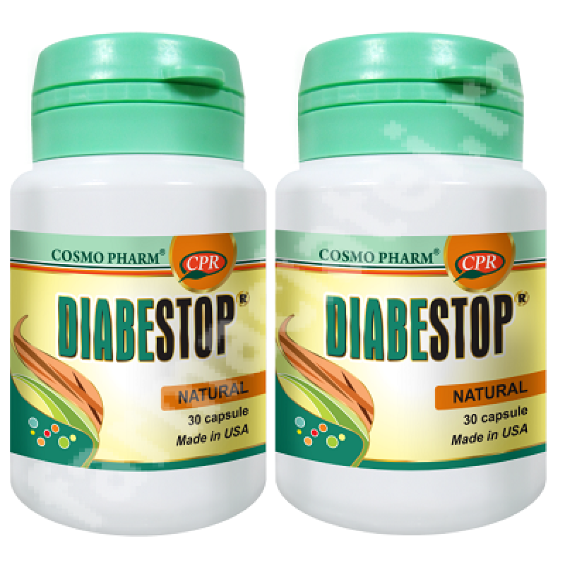 Diabestop (30 capsule) 1+ 1 Gratuit, Cosmopharm
