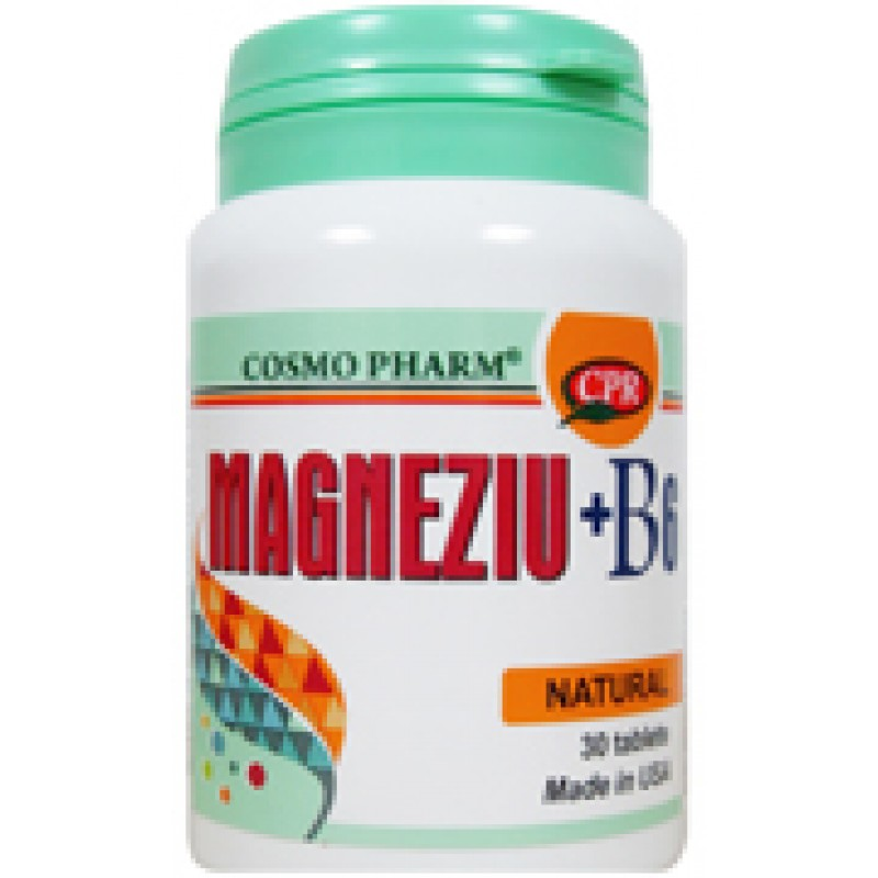 Magneziu + B6 Promo10 tablete gratuit (30 tablete), Cosmopharm