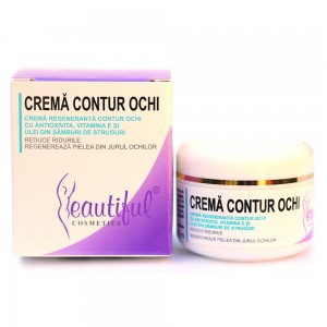 Crema contur ochi cu antioxivita (50ml), Beautiful Cosmetics