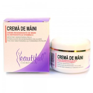 Crema de maini cu antioxivita (50ml), Beautiful Cosmetics