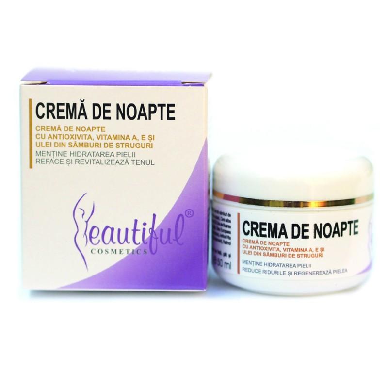 Crema de noapte cu antioxivita (50ml), Beautiful Cosmetics