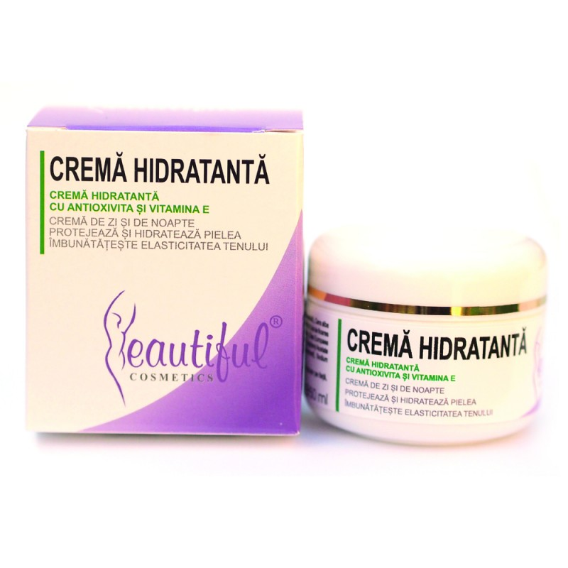 Crema hidratanta cu antioxivita (50ml), Beautiful Cosmetics
